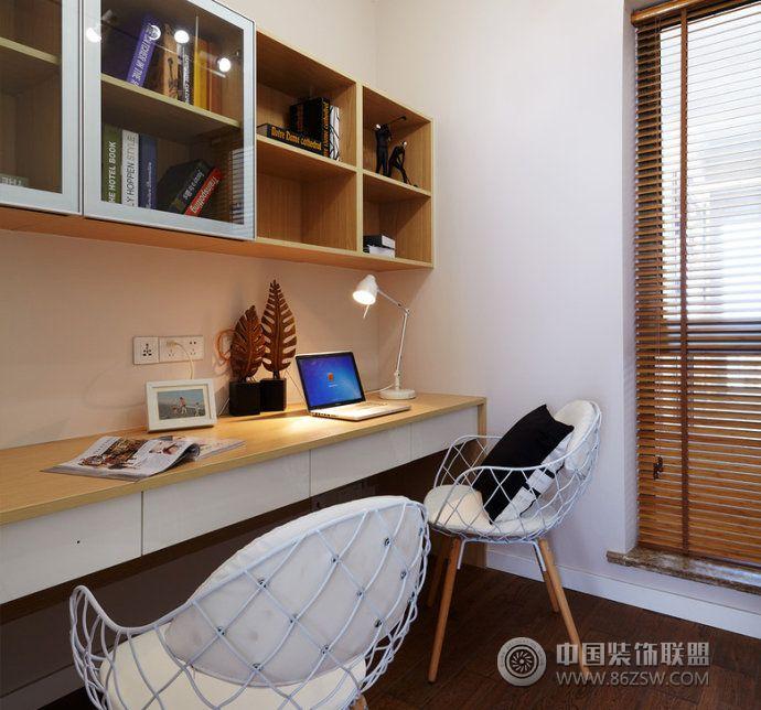 2015最新书房设计图_小户型装修效果图_八六(中国)(86