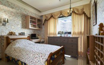 145平古典乡村装修效果图古典卧室装修图片