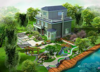 别墅庭院设计方案