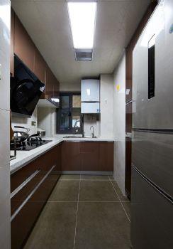 89平现代简约二居设计图片现代厨房装修图片