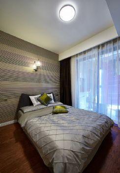 89平现代简约二居设计图片现代卧室装修图片