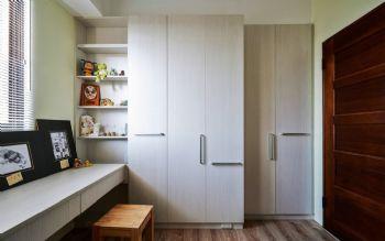93平简约原木演绎自然美居装修图片简约书房装修图片