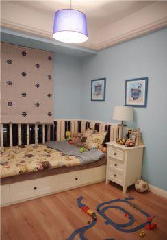 95平美式二居装修案例美式儿童房装修图片
