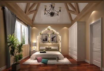 260平五居简欧风设计图片欧式卧室装修图片
