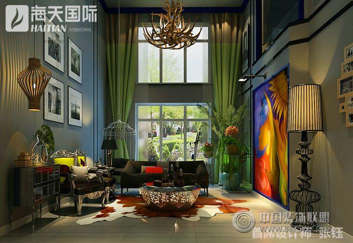 美式风格双层复式楼装修图片整套大图展示
