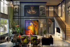 美式风格双层复式楼装修图片现代风格别墅