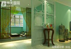 牡丹花园新中式设计大户型装修设计图中式书房装修图片