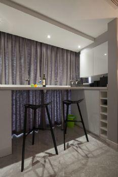 127平现代简约大户型装修效果图简约厨房装修图片