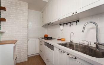 84平简约复式中户型装修效果图厨房装修图片