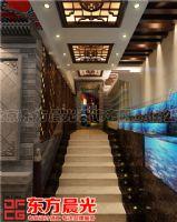 高档中式酒楼设计酒店装修效果图酒店装修图片