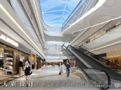 强调福建城市综合体设计项目的时代风格商场装修图片