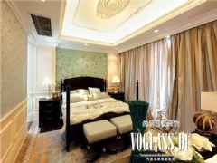 中海龙湾半岛法式风格装修效果图东南亚卧室装修图片
