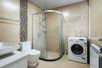 84平现代风格装修案例现代卫生间装修图片