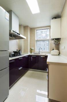 84平现代风格装修案例现代厨房装修图片