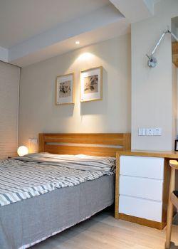 88平日式小清新美居东南亚卧室装修图片