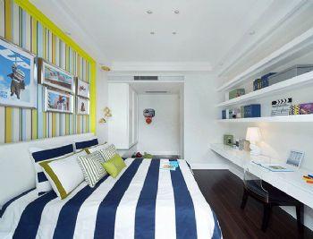 210平现代欧式大户型装修效果图现代卧室装修图片