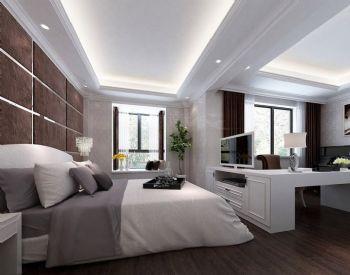 172平后现代简约大户型装修效果图现代卧室装修图片