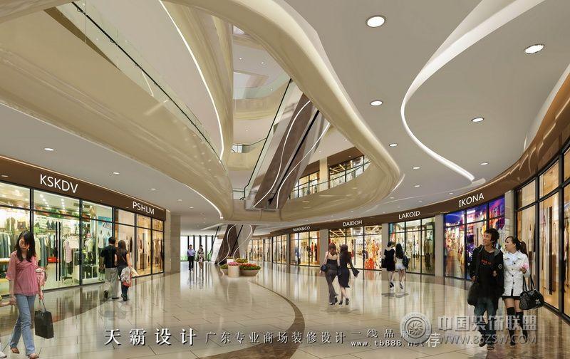 市综合楼体设计效果图 单张展示 商场装修效果图 八六 中国 装饰联盟