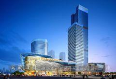 城市综合楼体设计效果图商场装修图片