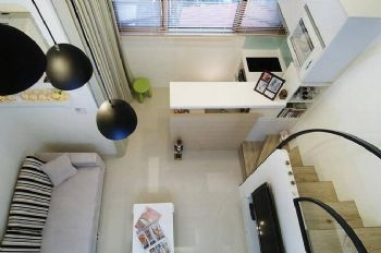33㎡一居小复式美家客厅装修图片