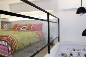 33㎡一居小复式美家卧室装修图片
