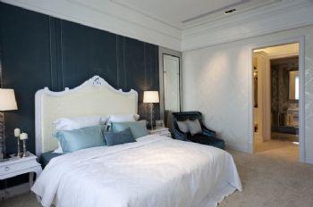 168平欧式风大户型装修案例卧室装修图片