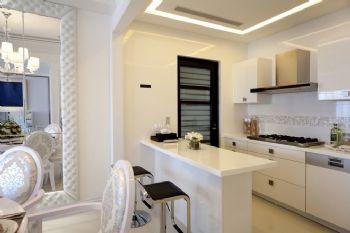 168平欧式风大户型装修案例厨房装修图片