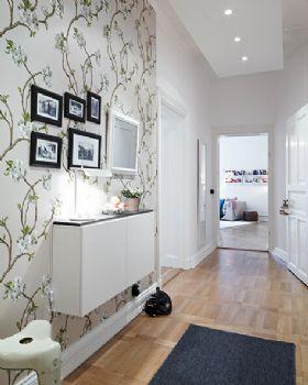 走廊设计让居室倍感温暖时尚