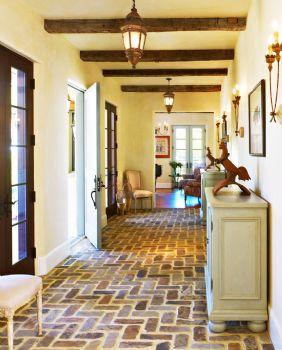 走廊设计让居室倍感温暖时尚现代过道装修图片