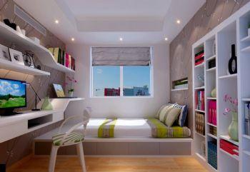 120平现代风大户型装修案例欣赏现代卧室装修图片