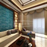大户型中式风装修图片中式客厅装修图片