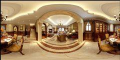 华宇城欧式风装修效果图欧式客厅装修图片