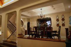 常青藤人文别墅美式风格美式客厅装修图片