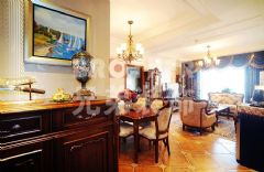 解放碑1号古典风装修设计欧式客厅装修图片