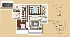 华宇天宫花城欧式风别墅装修案例欧式客厅装修图片