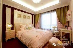 泛海国际城市里的优雅效果图混搭卧室装修图片