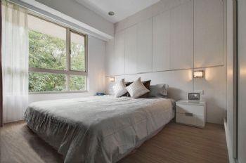 95平简约风设计图片简约卧室装修图片
