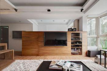 95平简约风设计图片简约客厅装修图片