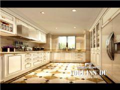 长城半岛城邦法式风格效果图美式厨房装修图片