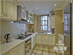 长城半岛城邦法式风格实景照片中式厨房装修图片