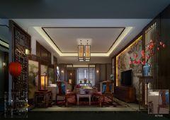 木渎天逸弯别墅中式风格设计图