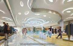 城市综合体商场办公楼装修案例商场装修图片