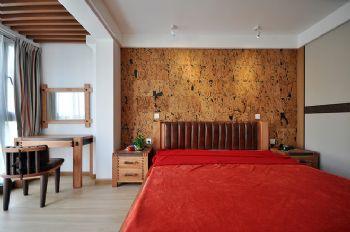 104平美式风大户型装修设计美式卧室装修图片