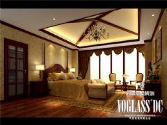 蔚蓝卡地亚豪宅美式风格设计图片美式卧室装修图片