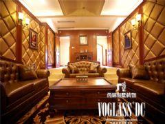 蔚蓝卡地亚美式风格案例美式客厅装修图片