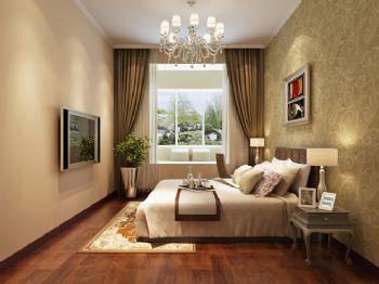 90平二居现代风装修效果图现代卧室装修图片
