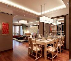 新中式风中式户型装修案例欣赏中式餐厅装修图片