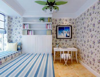 102平欧式风大户型打造美家欧式儿童房装修图片