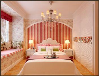 102平欧式风大户型打造美家欧式卧室装修图片