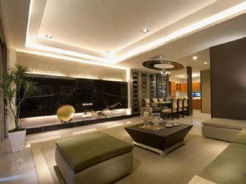 446平混搭风别墅设计混搭客厅装修图片